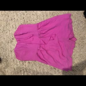 Pink express jumper with pockets